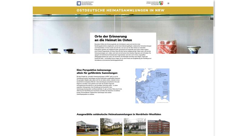 Virtuelle Heimatsammlungen gehen online
