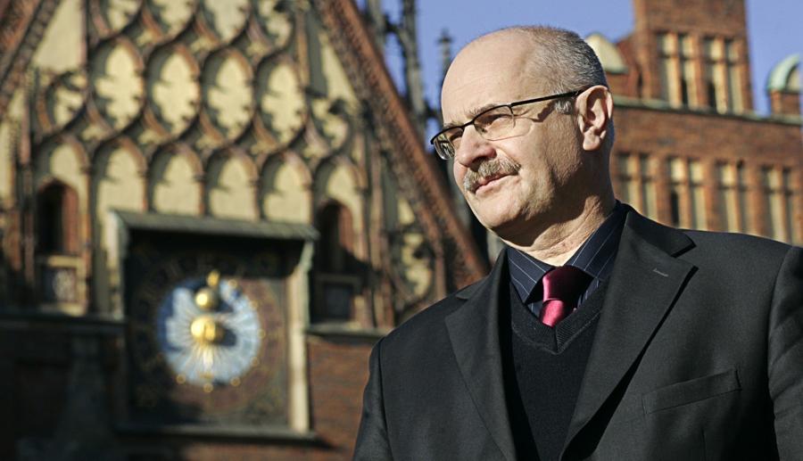 Dr. Maciej Łagiewski wird Ehrenbürger von Breslau