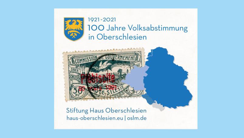 Sonderbriefmarke 100 Jahre OS-Volksabstimmung