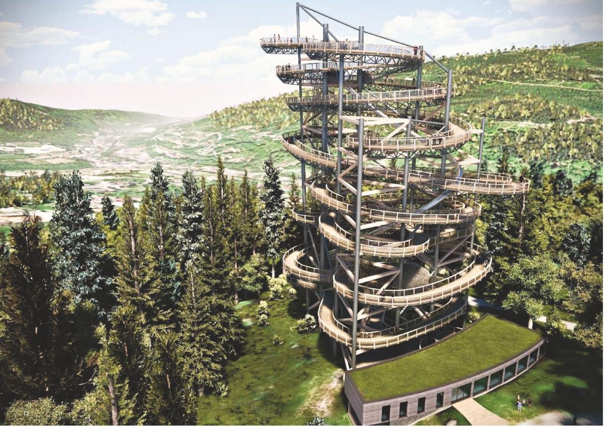 Größter Aussichtsturm Polens entsteht in Bad Flinsberg