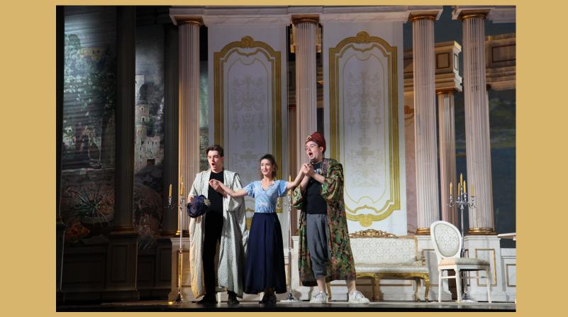 Mozarts Così fan tutte auf der Breslauer Opernbühne