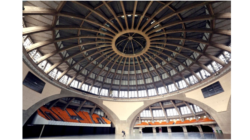 Renovierung der Jahrhunderthalle