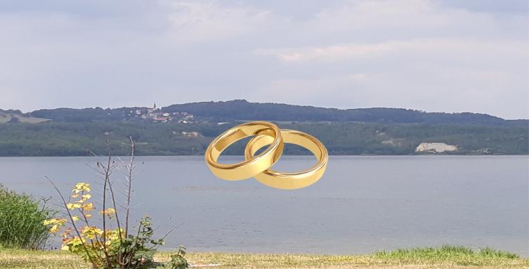 Görlitzer Standesamt traut im Hafengebäude am Berzdorfer See