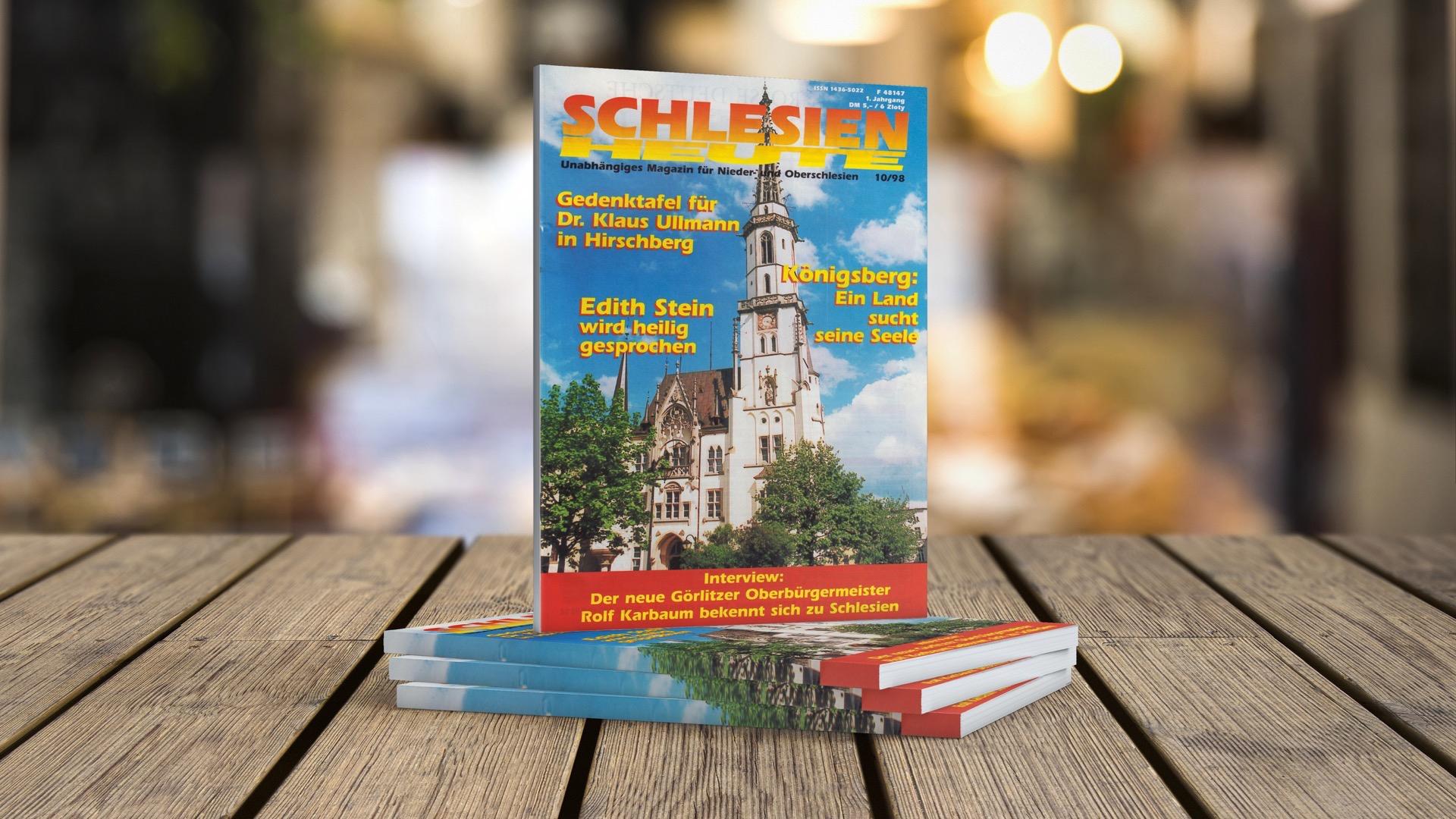 """250. Ausgabe """"Schlesien heute"""""""
